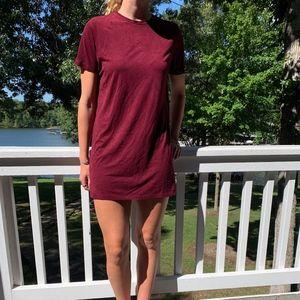 Brandy Melville Dresses - Red velvet dress